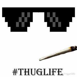 """Thug Life Glasses"" Canvas Prints by NewTrigger020 