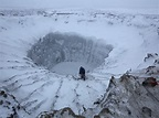 Huge craters appearing in Russia worry scientists ...
