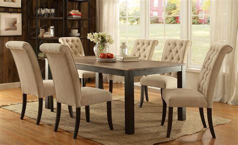 marshall rustic oak rectangular dining room set