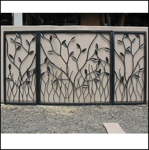 portail fer forg 233 porte ext 233 rieur gates blacksmithing and garden photos