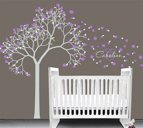 stickers arbre chambre fille items similar to baby nursery vinyl decal tree wall