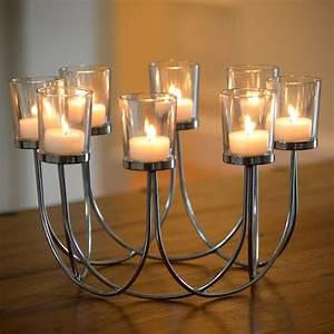 Tea, Light, Glass, Candle, Holder