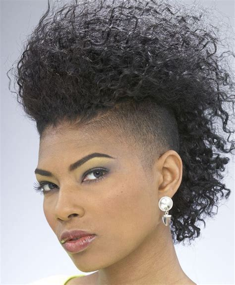 Mohawk Hairstyles by 40 Mohawk Hairstyle Ideas For Black