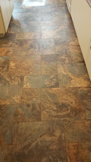 armstrong flooring grout vinyl tile from armstrong alterna modern kitchen vancouver by nufloors langley