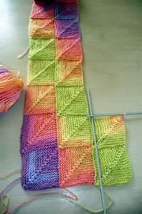 Decke Stricken Patchwork : modular knitting the thousand mailed trunk tricot ~ Watch28wear.com Haus und Dekorationen