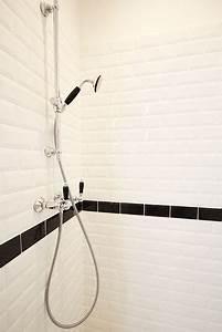 Frise Carrelage Sol : carrelage m tro blanc ou noir on aime les deux ~ Melissatoandfro.com Idées de Décoration