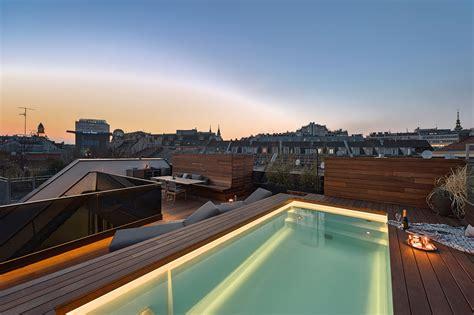 Pool Auf Dachterrasse by 1060 Wien Gs 43 Penthouse Mit Dachterrasse Und Pool