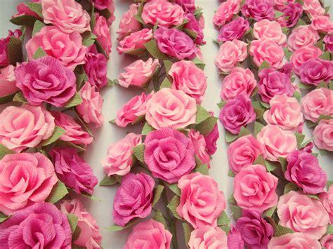 paper flower garlandpaper flowerswedding arch garlandtable