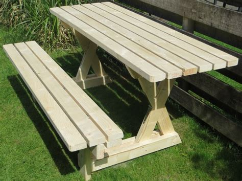 How To Build A 2in1 Picnic Table And Bench  Diy, Picnic