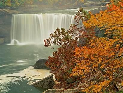 Autumn Scene Natural Wallpapers Scenes Fall Nature