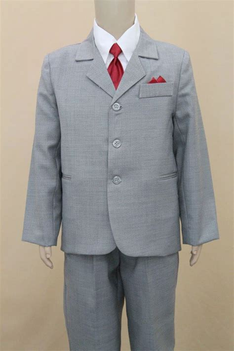 boys silver grey  piece suit bsgp bsgp
