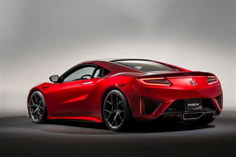 honda announces preliminary european pricing for new nsx