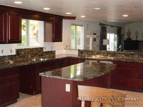 green marinace granite countertops for kitchen and vanity