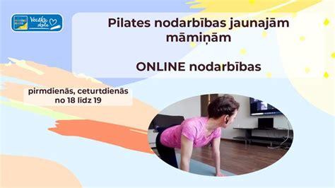 ONLINE Pilates nodarbības jaunajām māmiņām - Vecāku skola ...
