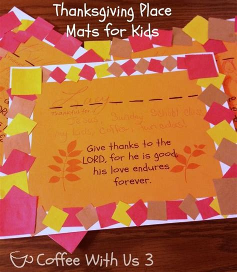 thanksgiving placemats for with free printable 853 | 2d50061f6d6f8f160cd5b2bf4bb9eb2d