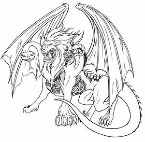 Chimera (Characters) – Printable coloring pages