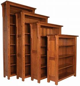 Solid, Wood, Boston, Bookcase, From, Dutchcrafters, Amish, Furniture