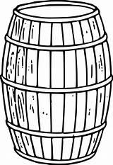 Clipart Keg Barrel Cliparts Clip Library sketch template