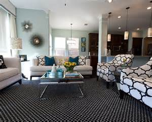 accents for living room black and white living room with