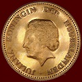 The Netherlands – gold commemorative 10 guilders coin 1979 ...