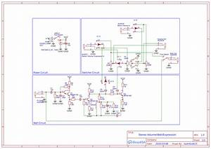 Volume  Wah  Expression Pedal Wiring