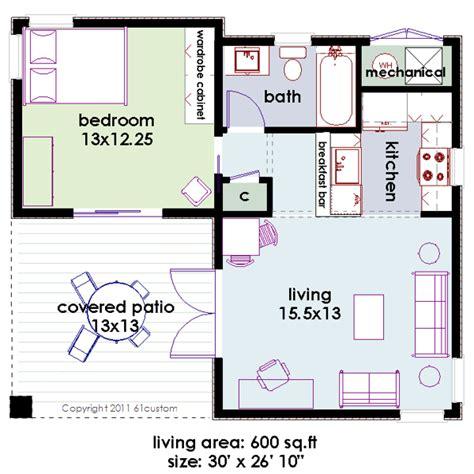 small minimalist modern house plan