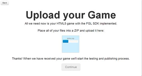 how to submit your html5 game to fgl html5 marketplace