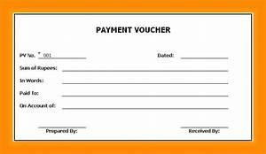 Payment Voucher Sample  7  Sample Of Payment Voucher For