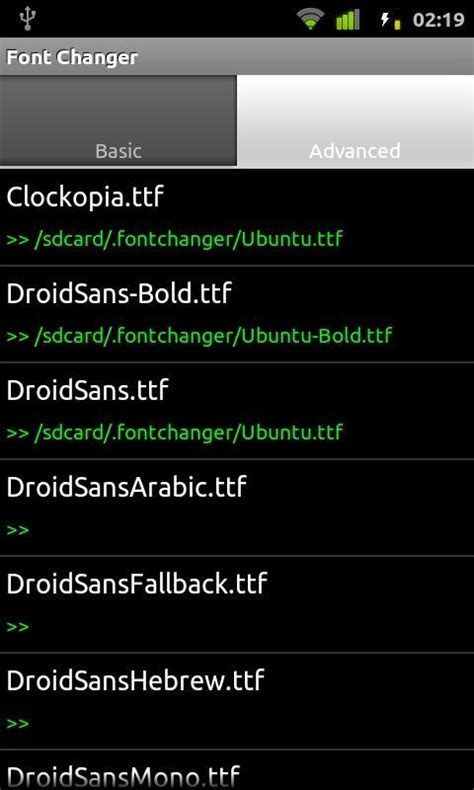 font style changer for android change fonts on android device with free app