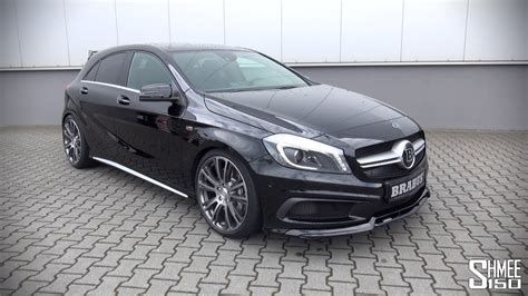 a45 amg prix brabus mercedes a45 amg introduction and revs