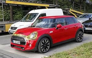 Mini Cooper 2018 : 2018 mini cooper s 5 door facelift spied what 39 s so ~ Nature-et-papiers.com Idées de Décoration