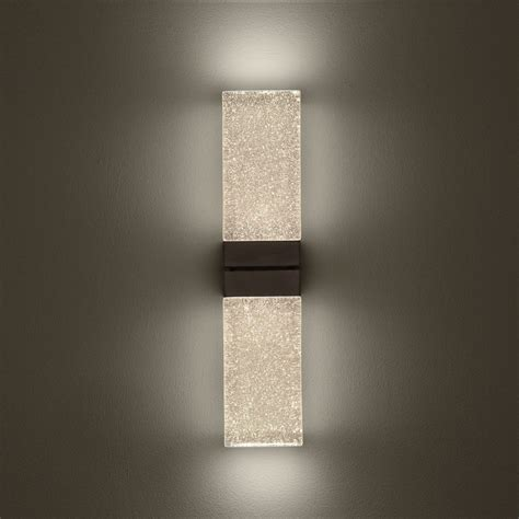 lighting led wall sconces indoor modern sconce bronze