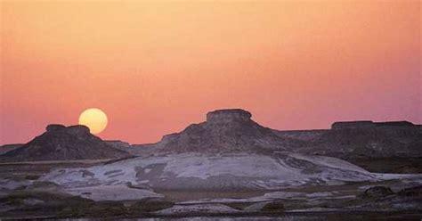 die weisse wueste ein unbekanntes naturjuwel  aegypten