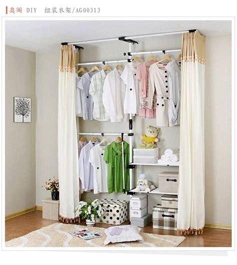 Simple Bedroom Closet Ideas by 25 Best Ideas About No Closet Solutions On No