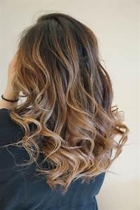 Ombré Hair Marron Caramel : caramel ombre balayage style on asian hair by mai style ~ Farleysfitness.com Idées de Décoration