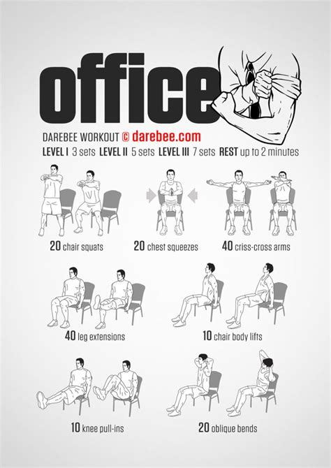 Office Desk Exercises by A Workout You Can Do In Your Office Chair