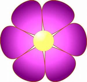 Pink Flower Clip Art at Clker com - vector clip art online