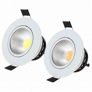 Aliexpress buy w cob led recessed lighting fixture