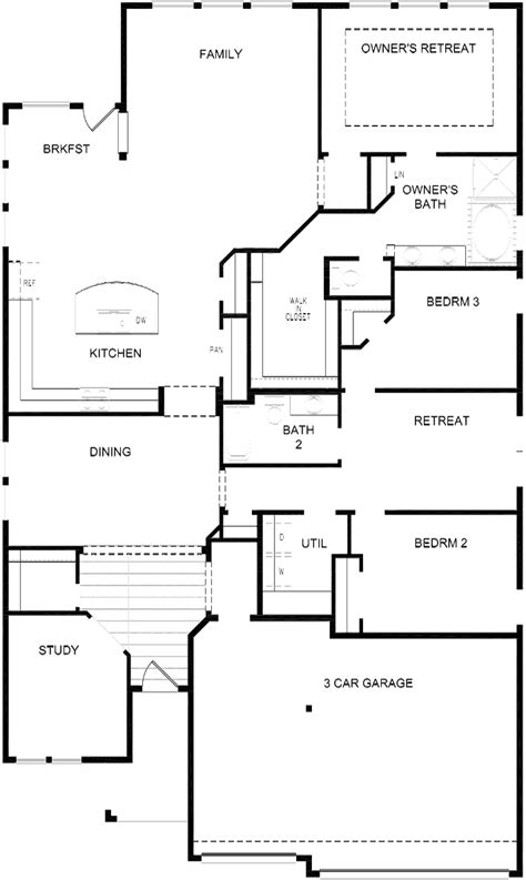 david weekley floor plans 2017 the underwood located in kinder ranch 55 david weekley