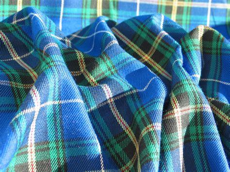 plaid turquoise pour canap blue scotia tartan fabric blue plaid fabric