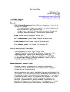 How To Create An Academic Cv by Cv Template Academic Http Webdesign14