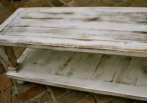 wood coffee table wooden shabby handmade by honeystreasures With white reclaimed wood coffee table