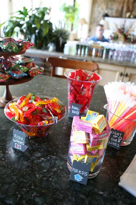 Graduation Themed Candy Dessert Bar  Grad Parties, Bar. Make Your Own Day Of The Dead Costume. Average Student Loan Debt Upon Graduation. Average Graduate Student Loan Debt. Employment Reference Letter Template. Employee Goal Setting Template. Graduation Presents For Girls. Job Interview Questions And Answers For Fresh Graduates. Usc Graduate School Acceptance Rate