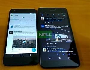 Android 7.0 Nougat vs Windows 10 Mobile Redstone ...