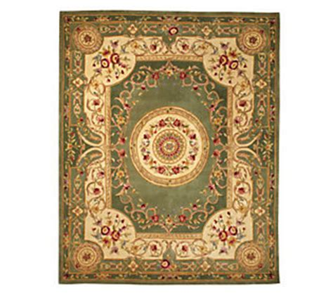 royal palace rugs royal palace emperors 76 x 96 handmade wool rug qvc
