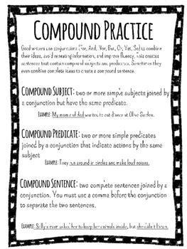 compound subject compound predicate  compound