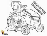 Tractor Lawn Coloring Mower Pages Print Riding Lawnmower Boss Tractors Farm Snapper Nxt Yescoloring Template sketch template