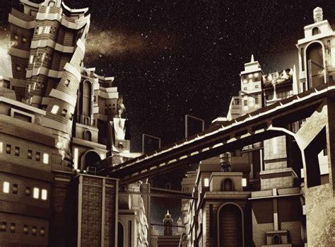 dark, City, Movie, Film, Darkcity, Noir, Sci fi, Science ...