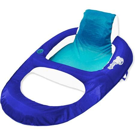 Floating Lounge Chair Walmart by Float Recliner Blue Cyan Walmart