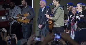 Watch Bernie Sanders Sing With Vampire Weekend At Iowa